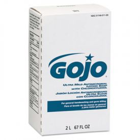 GOJO® Ultra Mild Antimicrobial Lotion Soap with Chloroxylenol, 2000 ML
