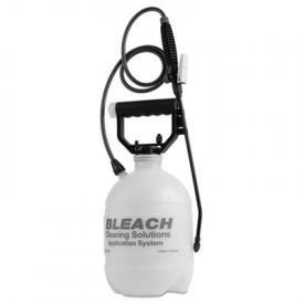 R. L. Flomaster Commercial-Grade Sprayer, Atomist Bleach, 1gal, White/Black