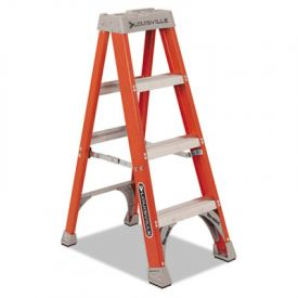 Louisville Fiberglass Heavy Duty Step Ladder, 50