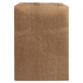 HOSPECO® Waxed Kraft Liners, 7 1/2 x 3 1/2 x 10 1/4, Brown