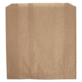 HOSPECO® Waxed Napkin Receptacle Liners, 9-3/4 x 11 x 3-5/8, Brown