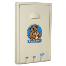 Koala Kare® Standard Recessed Vertical Baby Changing Station, Cream