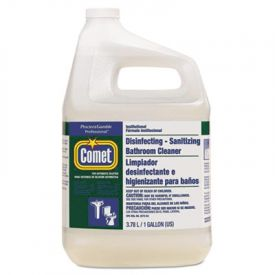Comet® Disinfecting-Sanitizing Bathroom Cleaner, One Gal Bottle Bottle