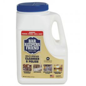 Bar Keepers Friend® Powdered Cleanser & Polish, 10lbs Box