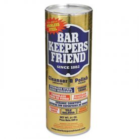 Bar Keepers Friend® Powdered Cleanser & Polish, 21oz Can