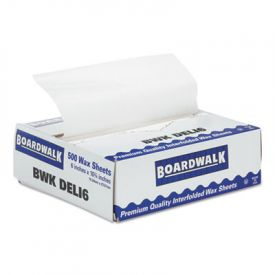 Boardwalk® Interfold-Sheet Deli Paper, 6