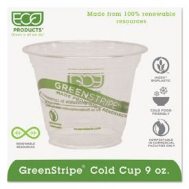 Eco-Products® GreenStripe Cold Drink Cups 9 oz