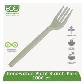 Eco-Products® Renewable PSM Cutlery, Cream