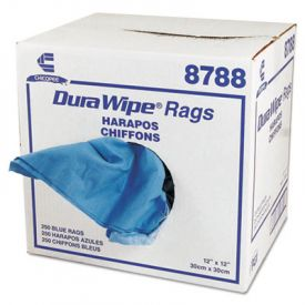 Chix® DuraWipe; General Purpose Towels, 12 x 12, Blue