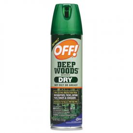 OFF!® Deep Woods® Aerosol Insect Repellent, 4oz, Aerosol, Neutral