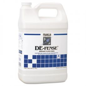 Franklin Cleaning ; DE-FENSE; Non-Buff Floor Finish, Liquid, 1 gal. Bottle