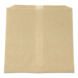 HOSPECO® Waxed Napkin Receptacle Liners, 7-3/4 x 10-1/2 x 8-1/2, Brown,