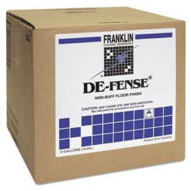 Franklin Cleaning ; DE-FENSE; Non-Buff Floor Finish, Liquid, 5 gal. Box