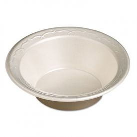 Genpak® Elite Laminated Foam Bowl, 12 oz, White