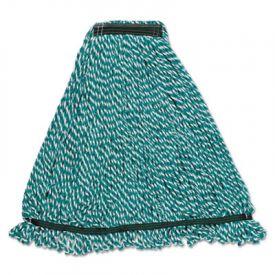 Rubbermaid® Commercial Web FootMicrofiber String Mop Heads, Green, Med