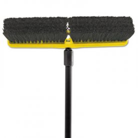 Rubbermaid® Commercial Tampico-Bristle Medium Floor Sweep, 18