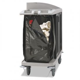 Rubbermaid® Commercial Zippered Vinyl Cleaning Cart Bag, 25 Gal