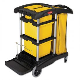 Rubbermaid® HYGEN Microfiber Healthcare Cleaning Cart