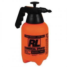 R. L. Flomaster Hand Sprayer, Polyethylene, 64 oz, Black/White