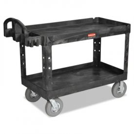 Rubbermaid® Commercial HD Utility Cart, 750-lb Cap., 26 x 55 x 33 1/4