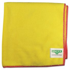 Unger® SmartColor™ MicroWipes, Heavy-Duty, 16 x 15, Yellow/Red