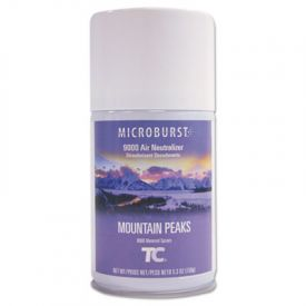Rubbermaid® Microburst 9000 Air Freshener Refill, Mountain Peaks, 5.3oz