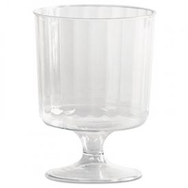 WNA Classic Crystal; Stemware, 5 oz., Clear, Fluted