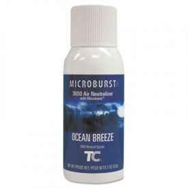 TC® Microburst® 3000 Air Freshener Refill, Ocean Breeze, 2oz
