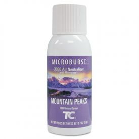 TC® Microburst® 3000 Air Freshener Refill, Mountain Peaks, 2oz