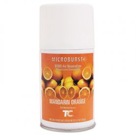 Rubbermaid® Microburst 9000 Air Freshener Refill, Mandarin Orange, 5.3oz