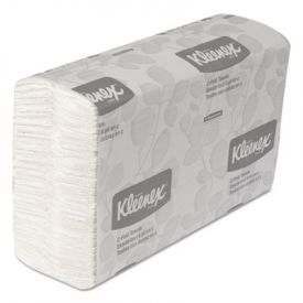 Kleenex® Folded Paper Towels, 10 1/8 x 13 3/20, White