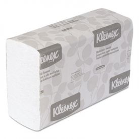 Kleenex® Folded Paper Towels, 9 1/5 x 9 2/5, White