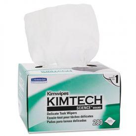 Kimtech* KIMWIPES* Delicate Task Wiper, Tissue, 4 2/5 x 8 2/5