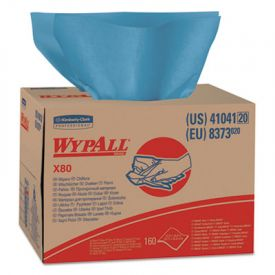 WypAll* X80 Wipers, Brag Box, HYDROKNIT, 12 1/2 x 16 4/5