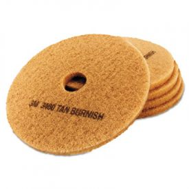 3M Ultra High-Speed Burnishing Floor Pads 3400, 19-Inch, Tan