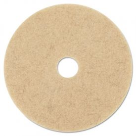 3M Ultra High-Speed Burnishing Floor Pads 3500, 27-Inch, Natural Tan