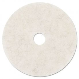 3M Ultra High-Speed Burnishing Floor Pads 3300, 27-in, Natural White
