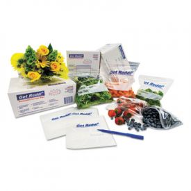 Inteplast Group Food Bags, 12 x 8 x 30, 24-Quart, 1.00 Mil, Clear,