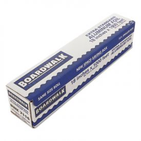 Boardwalk® Premium Quality Aluminum Foil Roll, 18 in x 1000 ft, 16 Microns