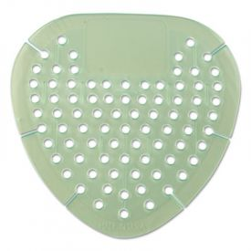 Krystal™ Gem Urinal Screens, 30 Days, Green, Spiced Apple Fragrance