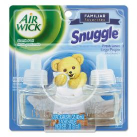 Air Wick® Scented Oil Refill, Snuggle Fresh Linen, 0.67oz, Bottle