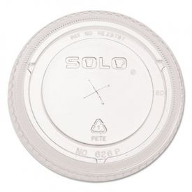 SOLO® Cup Ultra Clear Dome Cold Cup Lids, PET, 100/Pack