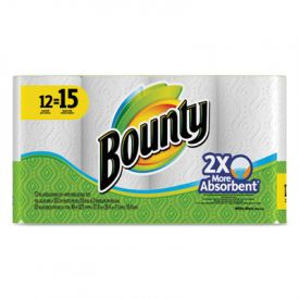 Bounty® Perforated Towel Rolls, 11 x 10.2, White, 2-Ply