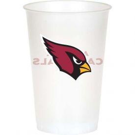 NFL Arizona Cardinals Printed Plastic Cups 20 oz