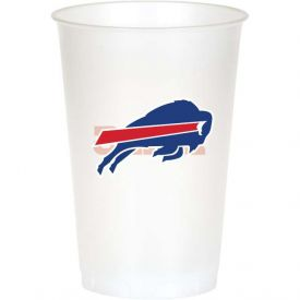 NFL Buffalo Bills 20 oz Printed Plastic Cups