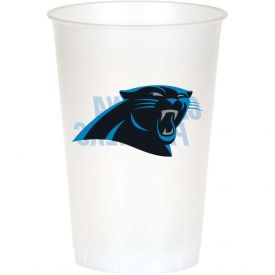 NFL Carolina Panthers 20 oz Printed Plastic Cups