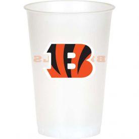 NFL Cincinnati Bengals 20 oz Printed Plastic Cups