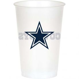 NFL Dallas Cowboys 20 oz Printed Plastic Cups