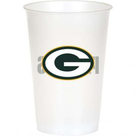 NFL Green Bay Packers 20 oz Printed Plastic Cups