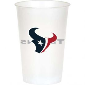 NFL Houston Texans 20 oz Printed Plastic Cups